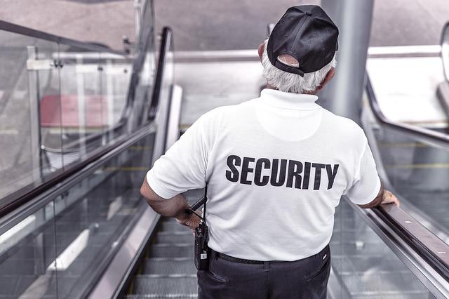 conserje de seguridad